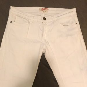 Current/Elliot Size 28 White Skinny Jeans